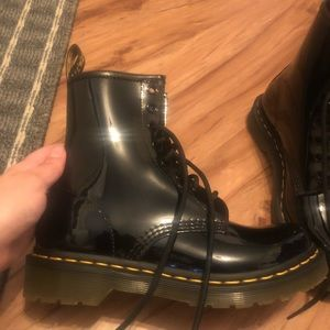 Dr Martins (glossy) size 7
